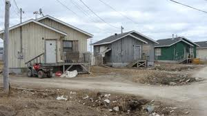 Atawapiskat Housing - millions from government and chief builds band members a shanty town.