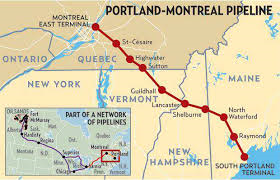 Montreal Pipe Line Ltd. Since 1941 imported 5 BB from Portland.